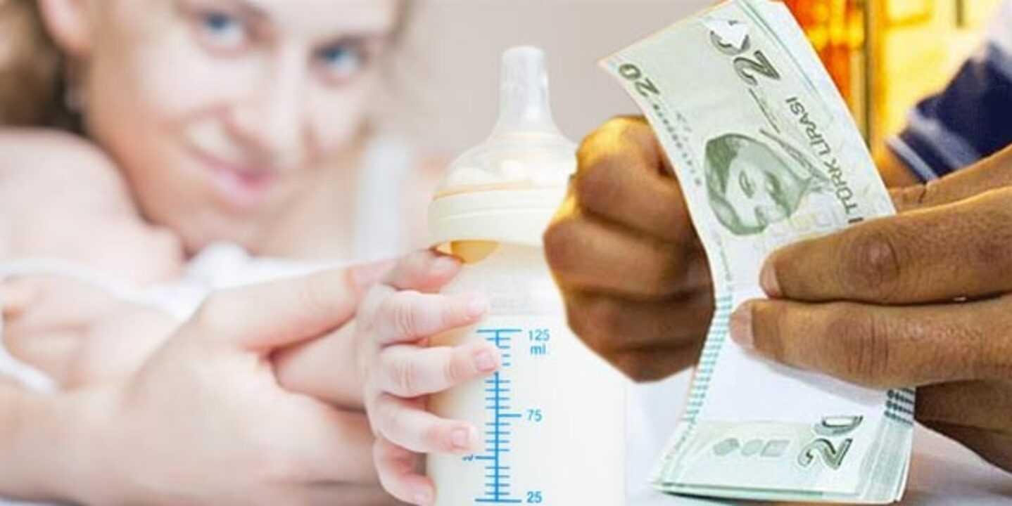 Doğum yapan kadınlara 600 lira devlet ödemesi