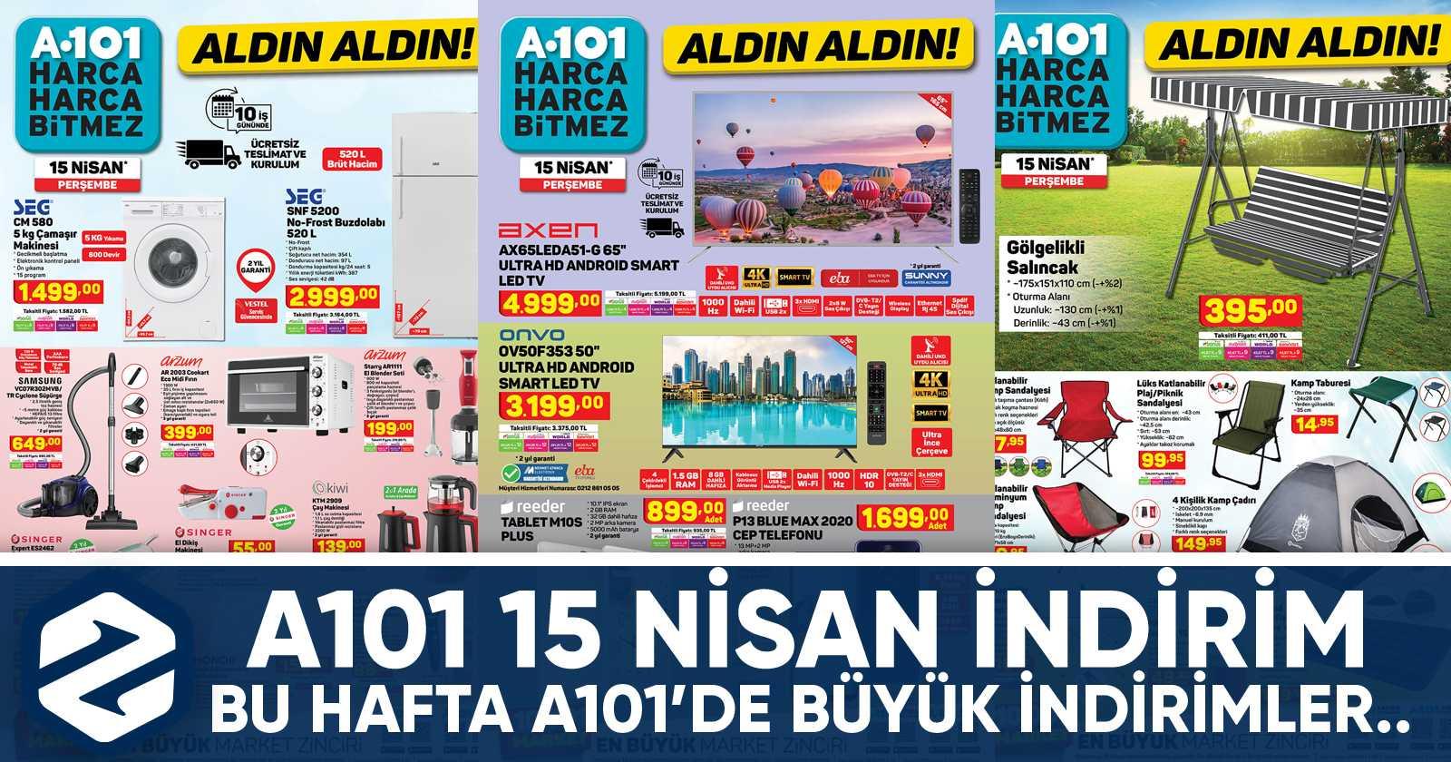 a101 15 nisan aktuel