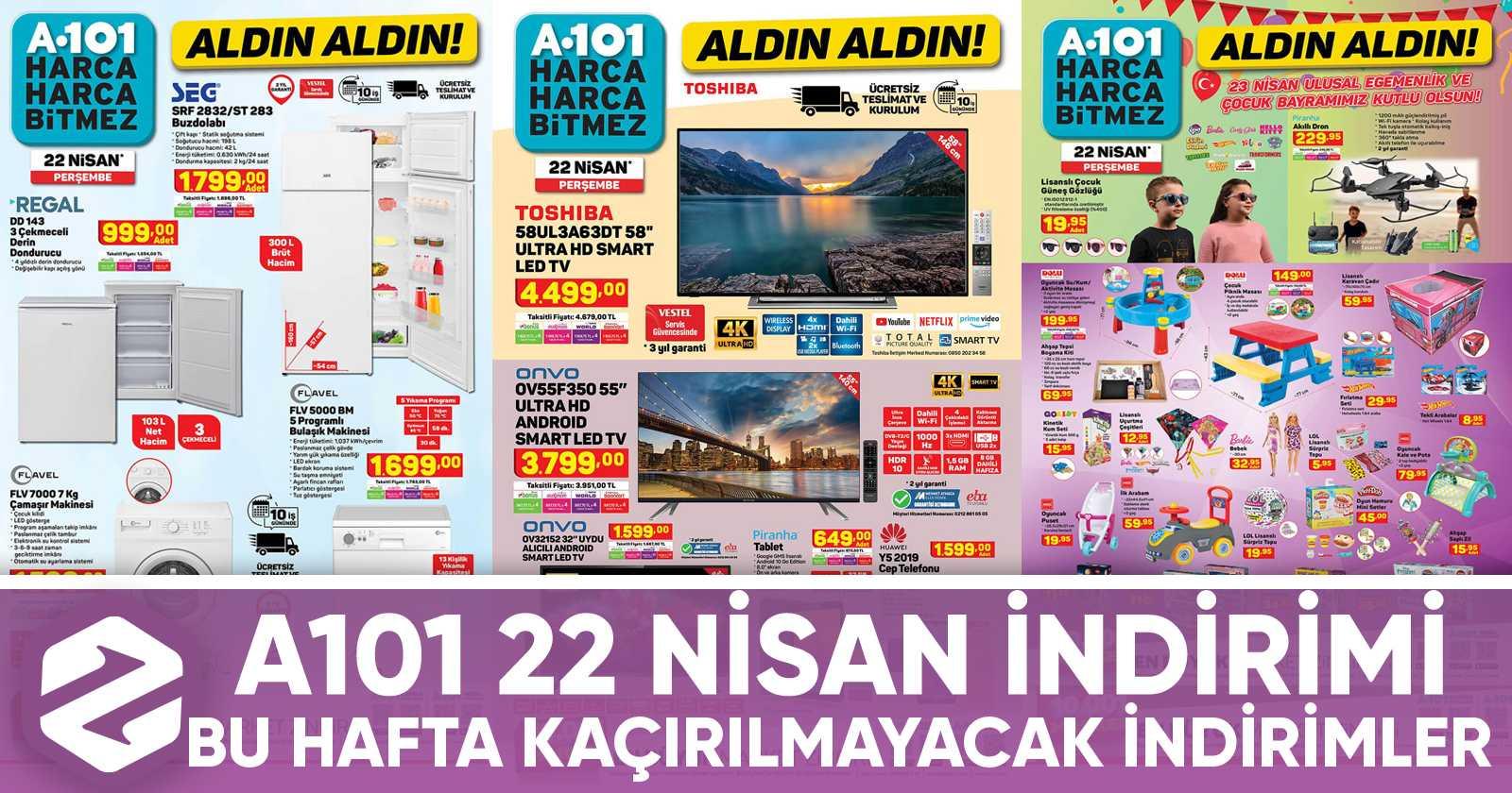 a101 22 nisan katalog