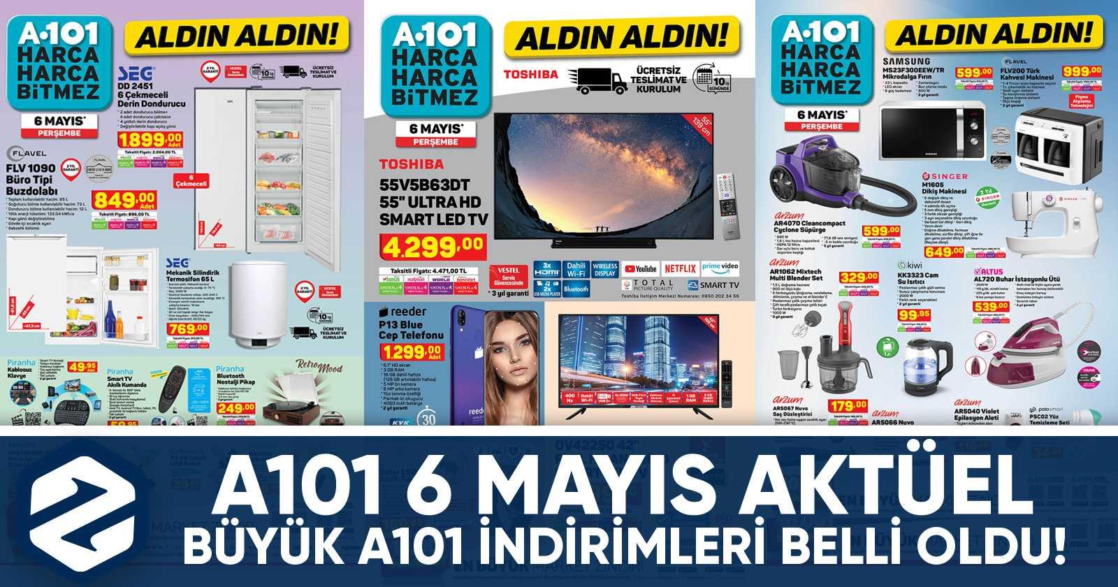 a101 aktuel 6 mayis