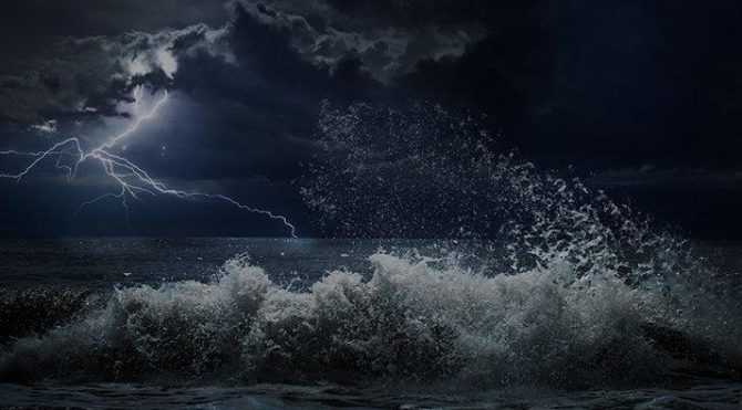 Güney Ege'de Fırtına Alarmı