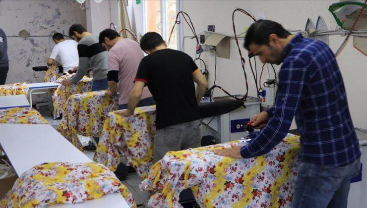 Muş'ta Devletin Açtığı Tekstil Atölyesi İstihdam Sağlıyor