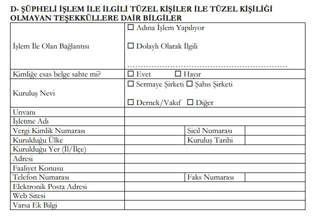Supheli Islem Formu4