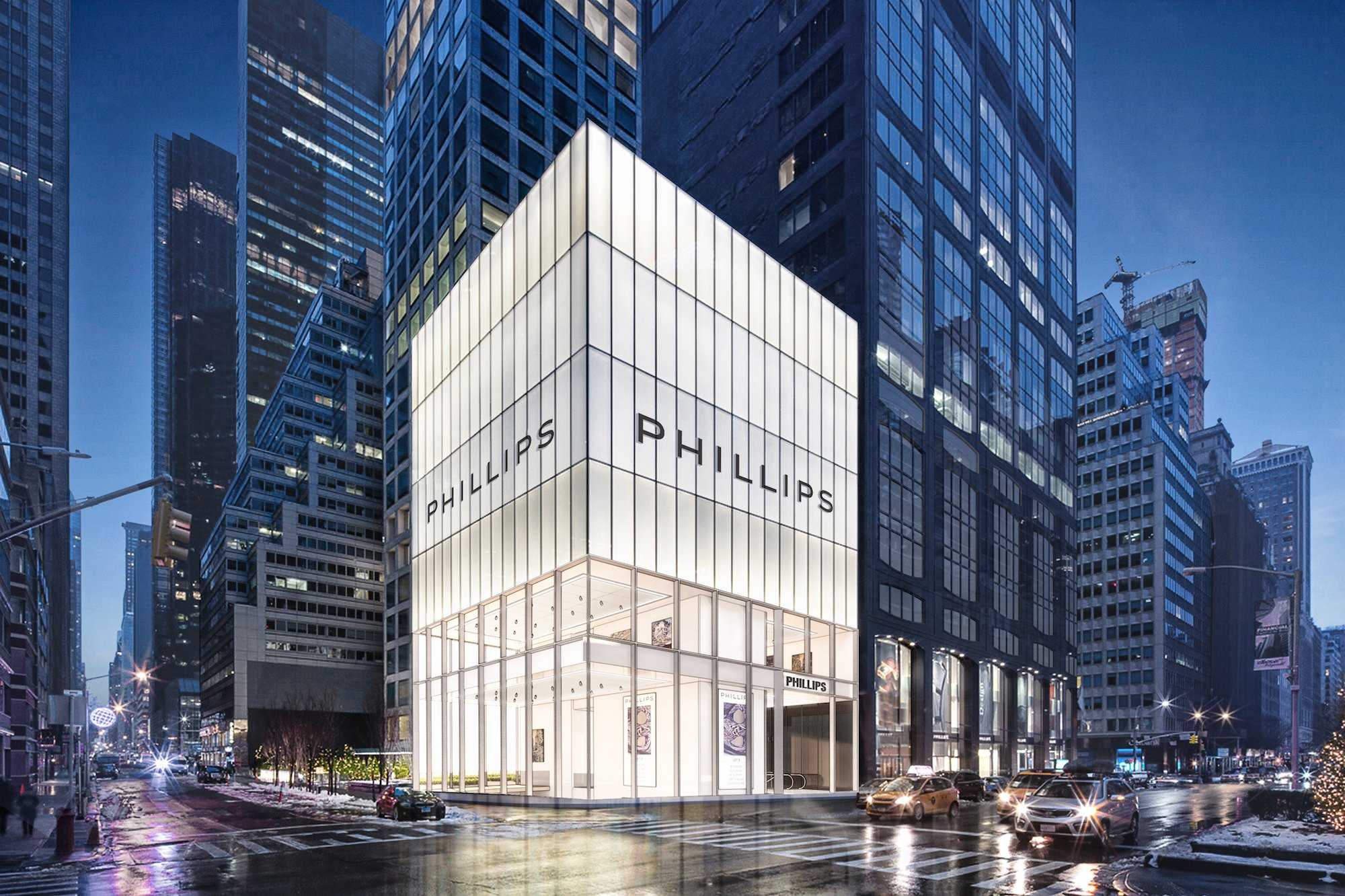 phillips auction house nyc